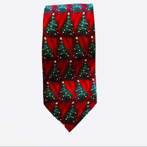 Hallmark Holiday Traditions Silk Christmas Tie NEW